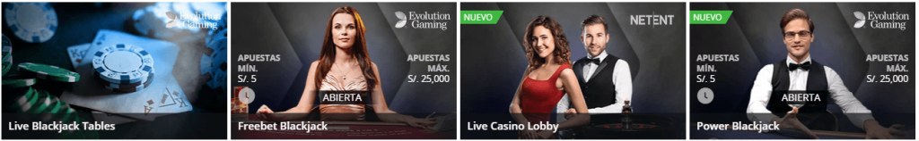 blackjack en vivo Betsson