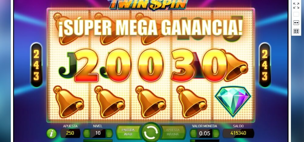 Betsson Bonos Casino Tragamonedas Twin Spin