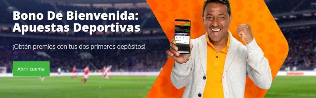 Bono de Bienvenida Betsson Apuestas Deportivas 2021