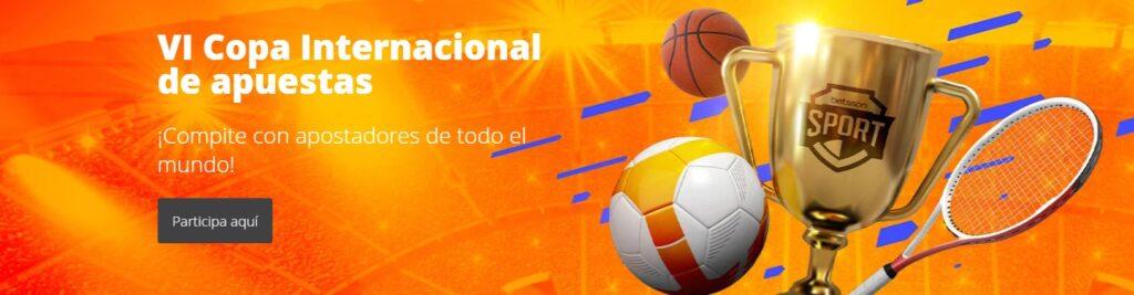 VI Copa Internacional de apuestas