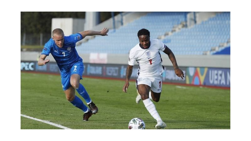 Inglaterra vs Islandia en Betsson
