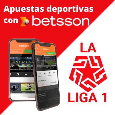 Apuestas deportivas en La Liga 1 Perú