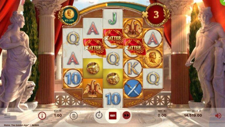 rome the golden age slot