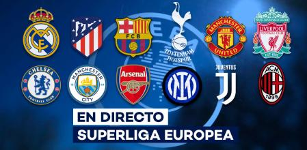 súper liga europea en directo