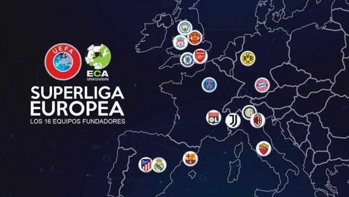 súper liga europea, participantes